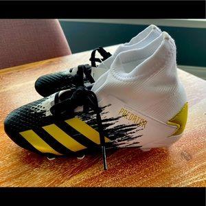 juniors' adidas Predator football boots.